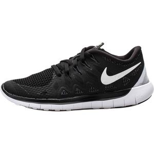 NIKE FREE 5.0+ black running shoes WOMENS size 7.5